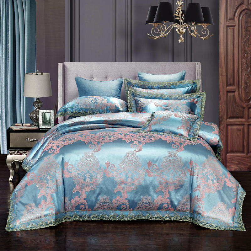 High Quality Bedding Sets Luxury Jacquard Comforterble