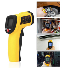 Best Buy 1pcs GM550 Digital Non-Contact -50 To 550 degree LCD IR Laser Infrared Thermometer Themperature Measurement Electronic Point Gun