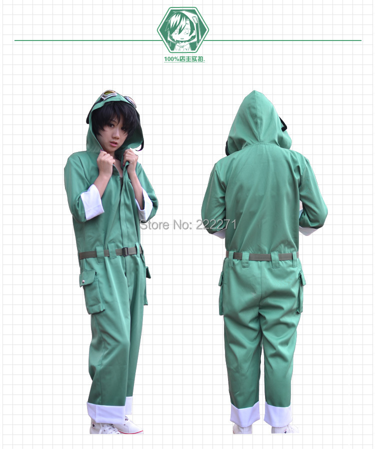 Kagerou projet chaleur brume projet SETO KOUSUKE chandail à capuche cosplay costume Anime piste gratuite