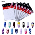 Elite99 DIY French Nails Tips Guides Sticker Style Form Manicure Gel UV Set Nail Decoration