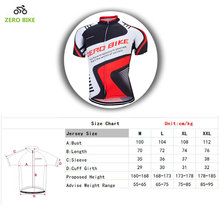ZEROBIKE Hot Sale 2017 Men's Cycling Jerseys 100% Polyester Quick Dry Cycling Clothing T-shirt