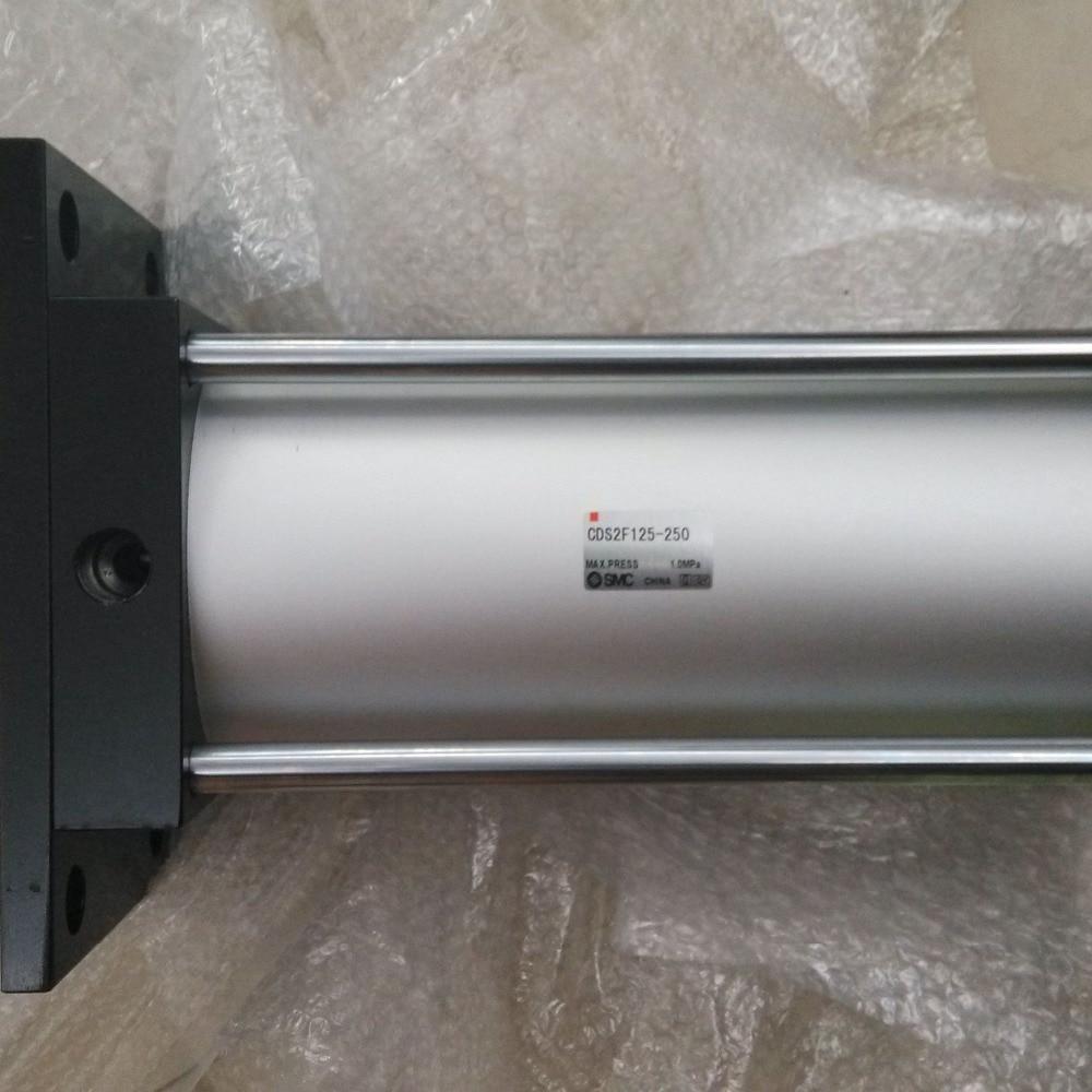 SMC CDS2F125-250 standard cylinder pneumatic cylinder paroles lab cds