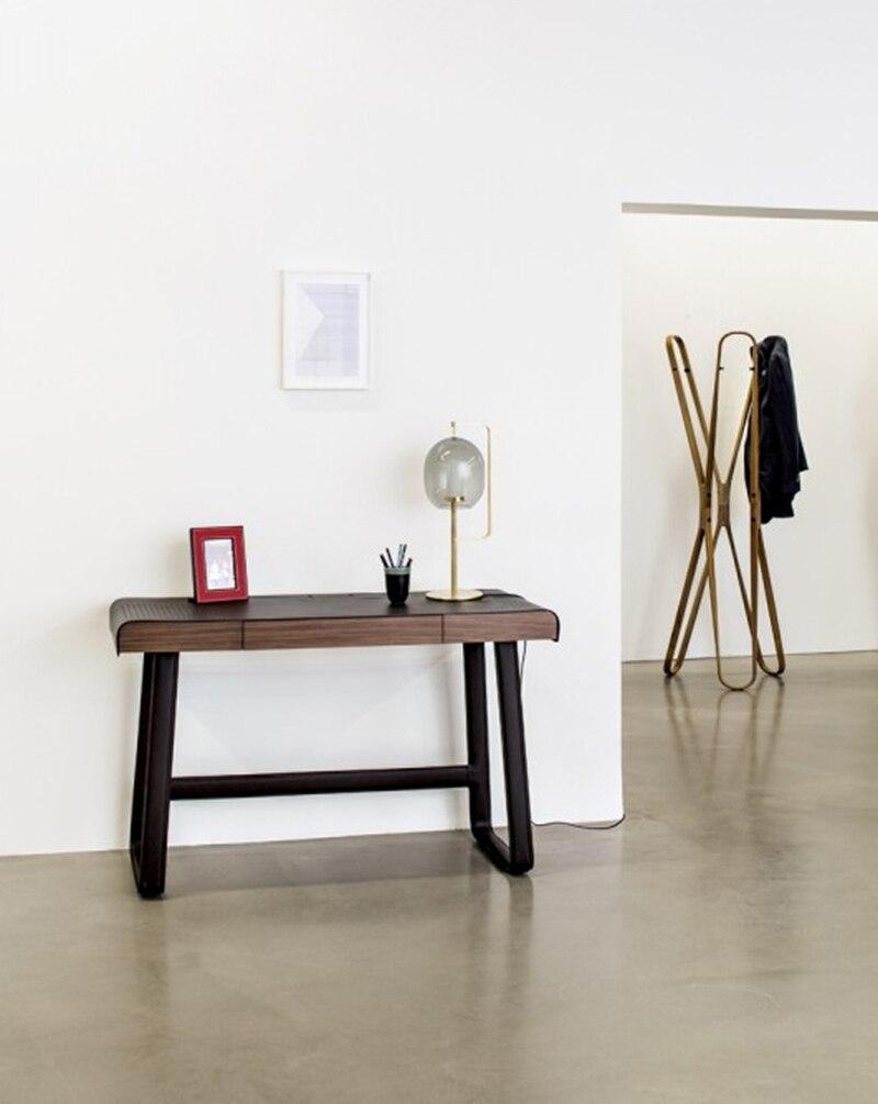 Современный стеклянный стол, металлический Настольный светильник для спальни, светильники, настольные лампы, гостиная, золотой, черный, настольная лампа, домашние настольные лампы AL101 - 3