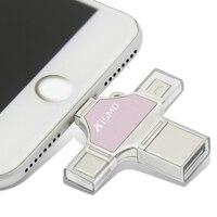 높은 품질 미니 4 1 usb 플래시 드라이브 유형 c 아이폰 삼성 안드로이드 노트