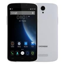 "En stock d'origine doogee x6 mtk6580 1.3 ghz quad core 1280*720 5.5 ""IPS HD Écran Android 5.1 1G + 8G 3G Téléphone Portable Smartphone"