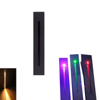 LED 벽 조명 Recessed 조명  안전 밤 장식 3W 경로 빛 실내/실외 잔디 갑판 방법 크리 어 칩