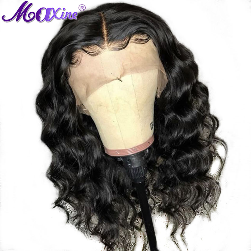 Short Human Hair Wigs For Black Women Water Wave Wig Peruvian Lace Front Wigs Pre Plucked