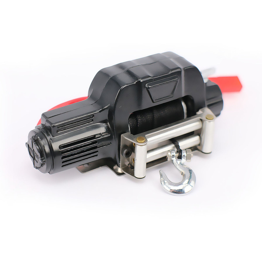 Automatic Simulated Crawler Winch Control System For 1/10 RC Car Crawler Truck Short Course Axial SCX10 AX10 Tamiya CC01 HSP rc crawler 1 10 accessories mini fuel tank winch jack tools kit for axial scx10 tamiya cc01 rc4wd d90 d110 rc truck car parts