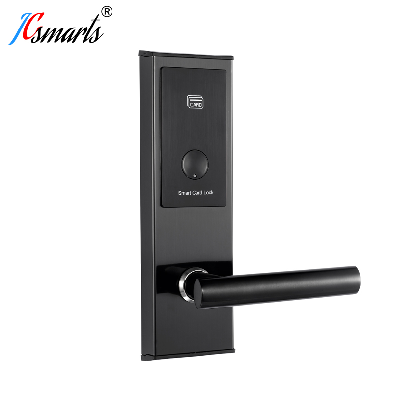 Jcsmarts Electronic Digital Door Lock With Hotel Room Key Card System