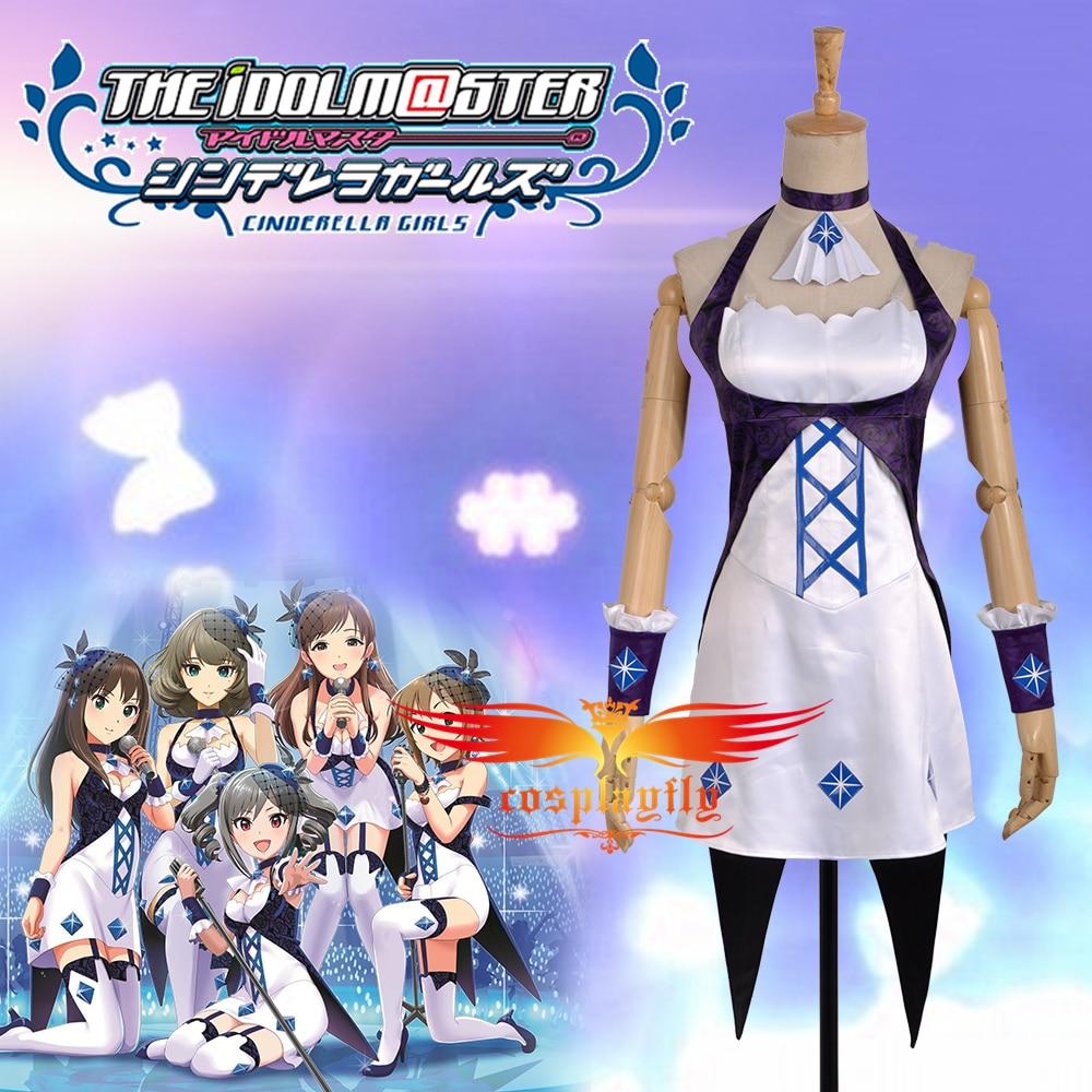 Les IDOLM @ STER cendrillon MASTER Takagaki Kaede, Kanzaki Ranko, Shibuya Rin, Nitta Minami, Tada Riina Cosplay Costume personnalisé