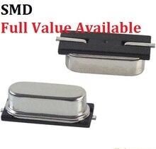 Passive Crystal Oscillator SMD 3.579545/4/6/7.3728/8/10/12/11.0592/12/13.56/14.7456/16/18.432/20/22.1184/24/25/26/27/27.12/MHZ/M