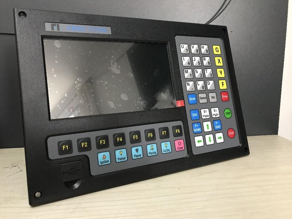 2-sistema de eixos CNC CNC máquina de corte chama plasma sistema de sistema de controle numérico F2100B