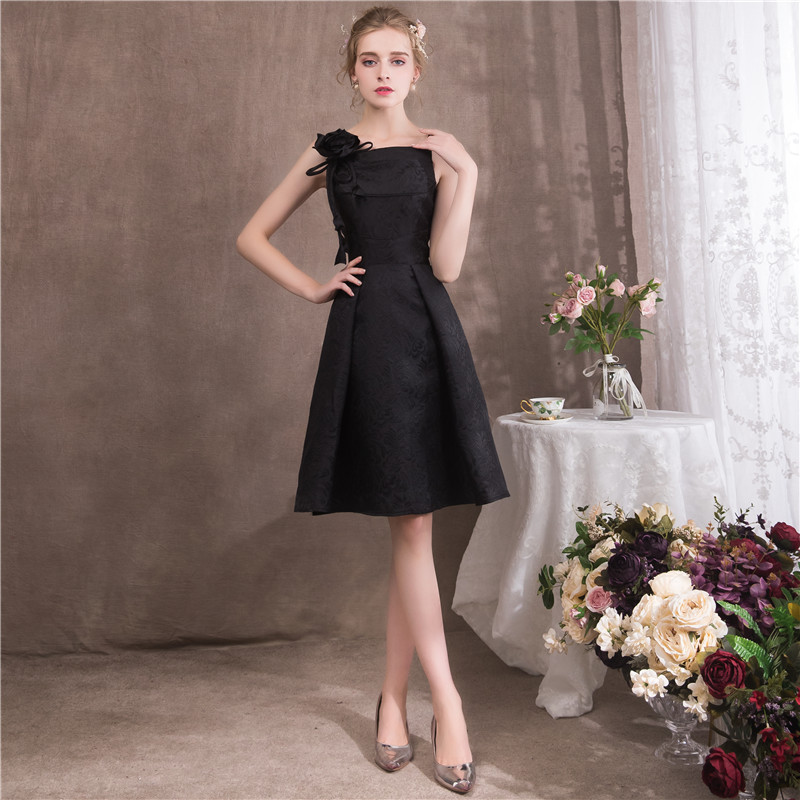 Its Yiiya 2018 Sleeveless Blak Cocktail Dresses Famous Designer
