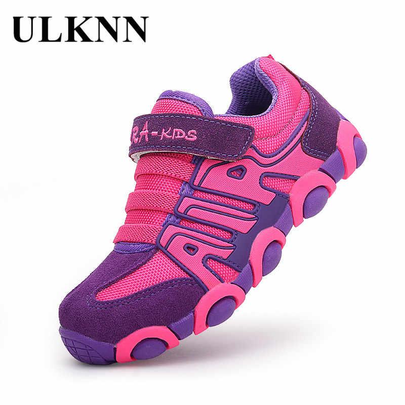 ULKNN Lederen Jongens Sneakers Voor Meisjes Kids Trainers Student Running School Kinderen Schoenen Sneakers kinderschoenen