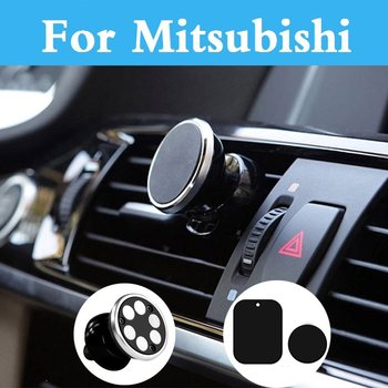 Car Phone Holder Gps Bracket For Iphone Samsung Huawei For Mitsubishi Outlander Pajero Mini Rvr Space Star Mirage Montero Sport image