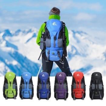 50L Backpack Hiking Waterproof Trekking Bag Outdoor Travel 6