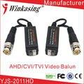 2011HD high quality UTP AHD Twisted BNC CCTV  video balun transmitter