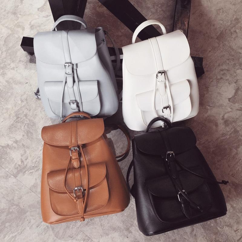 9b17453ee012 LEFTSIDE Women s Drawstring PU Leather Backpack School bags Teenage Girls  Backpacks for Women High quality ladies Bagpack - TakoFashion - Women s  Clothing ...