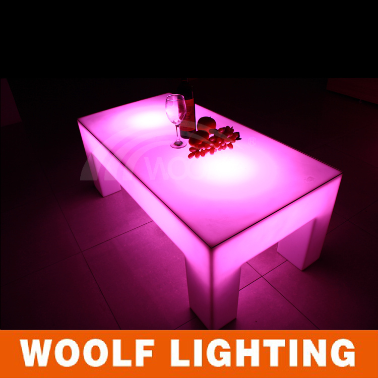 led wide retangle table modern living room center table (without ...