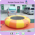 Free Shipping!!! Diameter 2m 0.9mm PVC Inflatable Water Trampoline/Water Jumping Bed/Jumping Trampoline