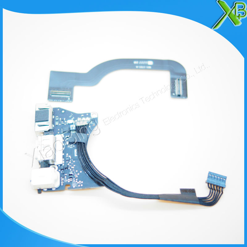 820-3453-A DC in Power Jack USB I/O Board with cable 821-1721-A For Macbook Air 11.6 A1465 2013-2015 years new topcase with tr turkish turkey keyboard for macbook air 11 6 a1465 2013 2015 years