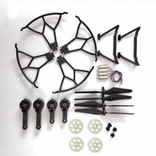 Rc drone ky601G spare parts motor engines gears propelller blades props cap guar