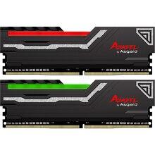 Ram 8 gb 2x8 gb 16 gb ddr4 3200 mhz 1.35 v do rgb da série de asgard azazel para o jogo do desktop com elevado desempenho de alta velocidade