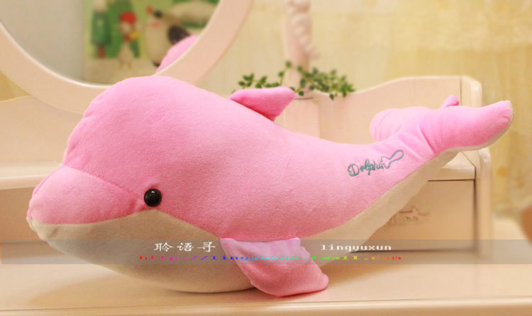 cute lovely dolphin font b plush b font toy font b stuffed b font dolphin pillow