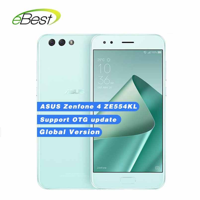 Global  ASUS Zenfone 4 ZE554KL Android Smartphone Octa Core Snapdragon 630 4GB RAM 64GB ROM  5.5'' FHD 3300mAh NFC Moblie Phone