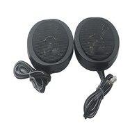 Tweeters Car Audio Paired Silk Soft Dome Hifi Mini Loudspeaker 60mm 4 ohm 200w Music 2 inch Tweeter Speakers for Car