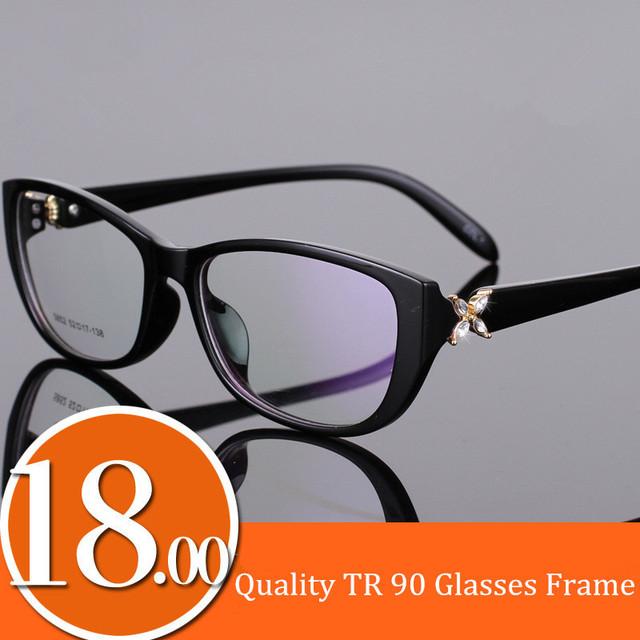 Top Quality Coreano Armações De Óculos TR 90 Grande Caixa de óculos de Design Da Marca de Moda Óculos de Armação de Leopardo Preto Roxo Vermelho para As Mulheres