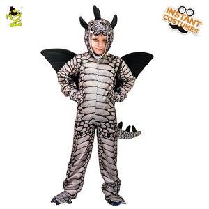 Image 4 - Kids Dinosaur Triceratops/Tyrannosaurus/Stegosaurus Costume Cosplay Mascot Animal Clothes Role Play for Halloween Party
