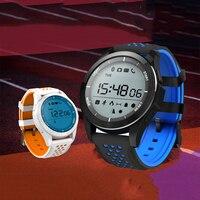 Rubber Smartwatch LED Touch Smart Watch Men Clock Waterproof Sports Fitness Watch Silicone Bracelet Mens Clock Luminous Display