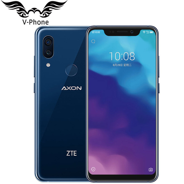 "2018 New Original ZTE Axon 9 pro 4G LTE IP68 Waterproof 6.21"" 8GB 256GB Snapdragon 845 Octa core NFC 4000mAh Fingerprint 20MP"