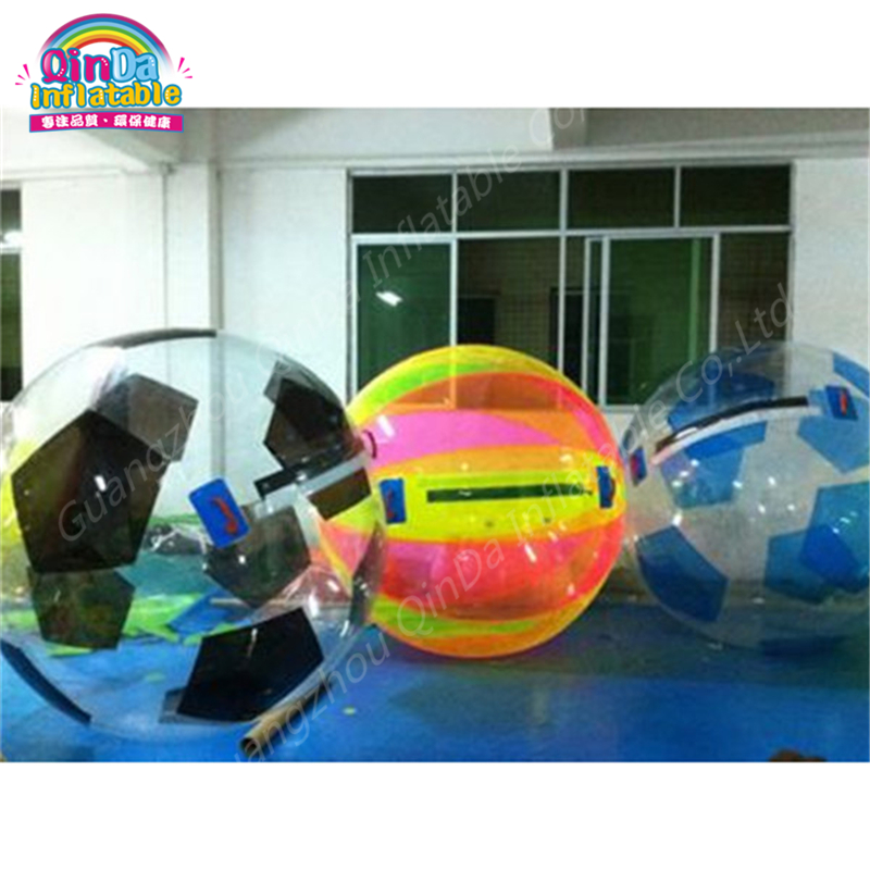 Outdoor Fun & Sports 2m 0.8mm Pvc Water Sports Balloon Water Zorb Ball Walk On Water Ball Inflatable Human Hamster Ball Comfortable Feel