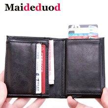 New Style RFID Card Holder And Minimalist Business affairs Wallet Metal Men Women Single Box Aluminium Blocking for