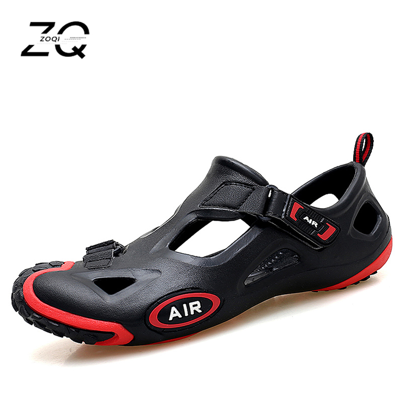 New Summer Beach Shoes Men Outdoor Sandals Men's Hot Aqua Shoes Water Slippers Lesiure Platform Sandals And Slippers Big Size 44
