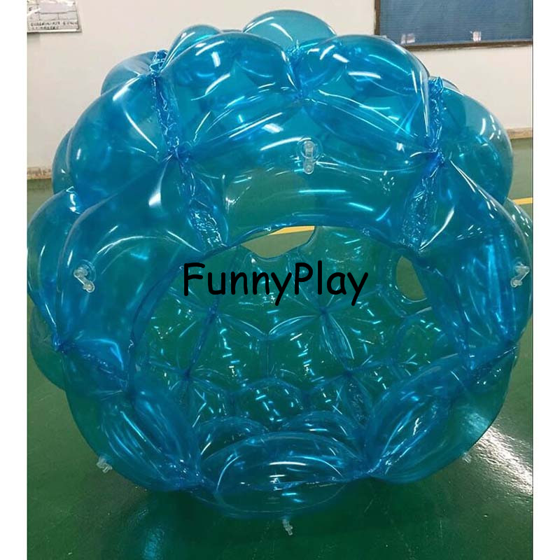 inflatable body suit,human inflatable bumper bubble ball,Bubble soccer Body Zorbing ball,90cm grass zorb buddy bumper ball