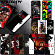WEBBEDEPP Scarface Soft Case for Samsung Galaxy A3 A5 A6 Plus A7 A8 A9 J6 Cover
