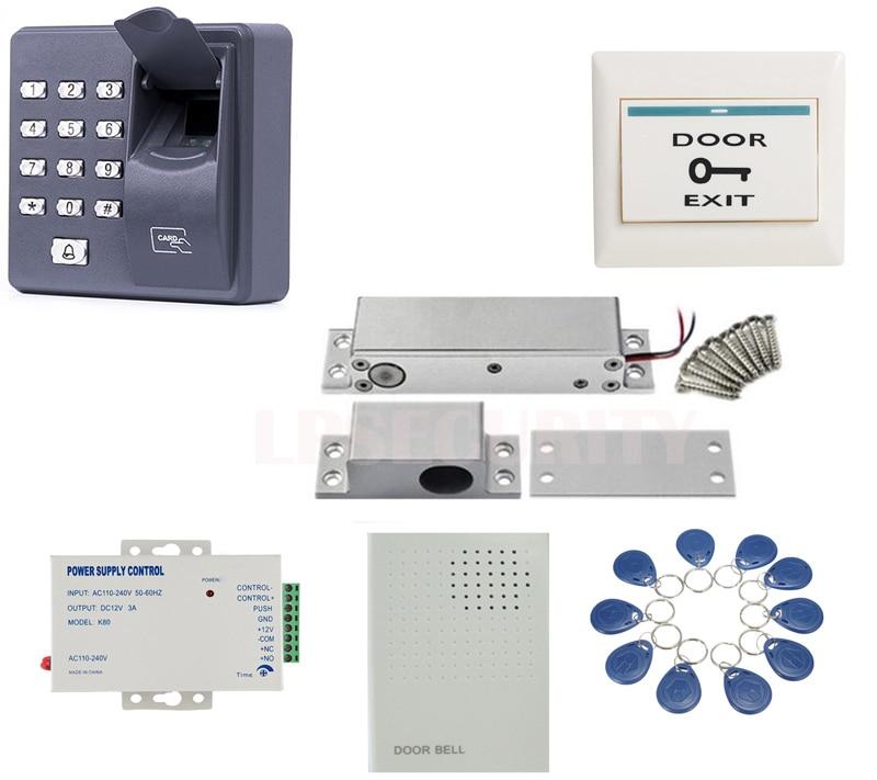 fingerprint reader Door gate Access Control low temperature electric locks,side mounted electric drop bolt lock 10tags г н яковлев николай островский