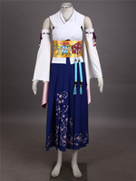 2017 New Clothing Made Anime Final Fantasy X Yuna Cosplay Summoned Costume Outfit High Quality Cosplay Costumes Free Shipping