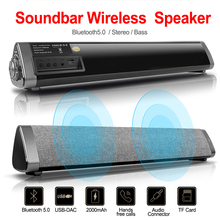 купить HIFI 3D Stereo Portable wireless Bluetooth Speaker Stereo TF FM Radio Music Subwoofer Column Speakers for Computer Phones дешево