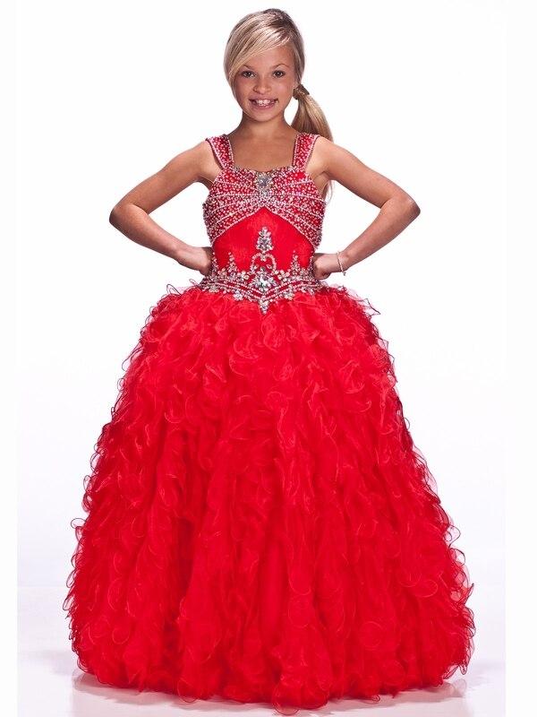 8 Floor Length Red Girls Formal Dresses Fashion Dresses