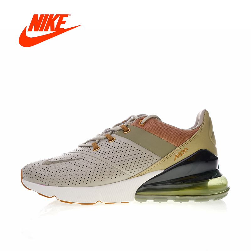 Original Nouvelle Arrivée Authentique Nike Air Max 270 Premium Hommes Chaussures de Course de Sport En Plein Air Sneakers Bonne Qualité AO8283-200
