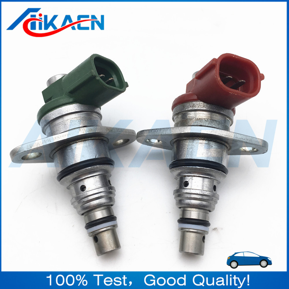 One Pair Original Genuine Pressure Limited Valve 096710-0052 096710-0062 Fuel Suction Control Valve For Toyota Nissan fashionable fulled rhombus plaid pattern fringed scarf for men