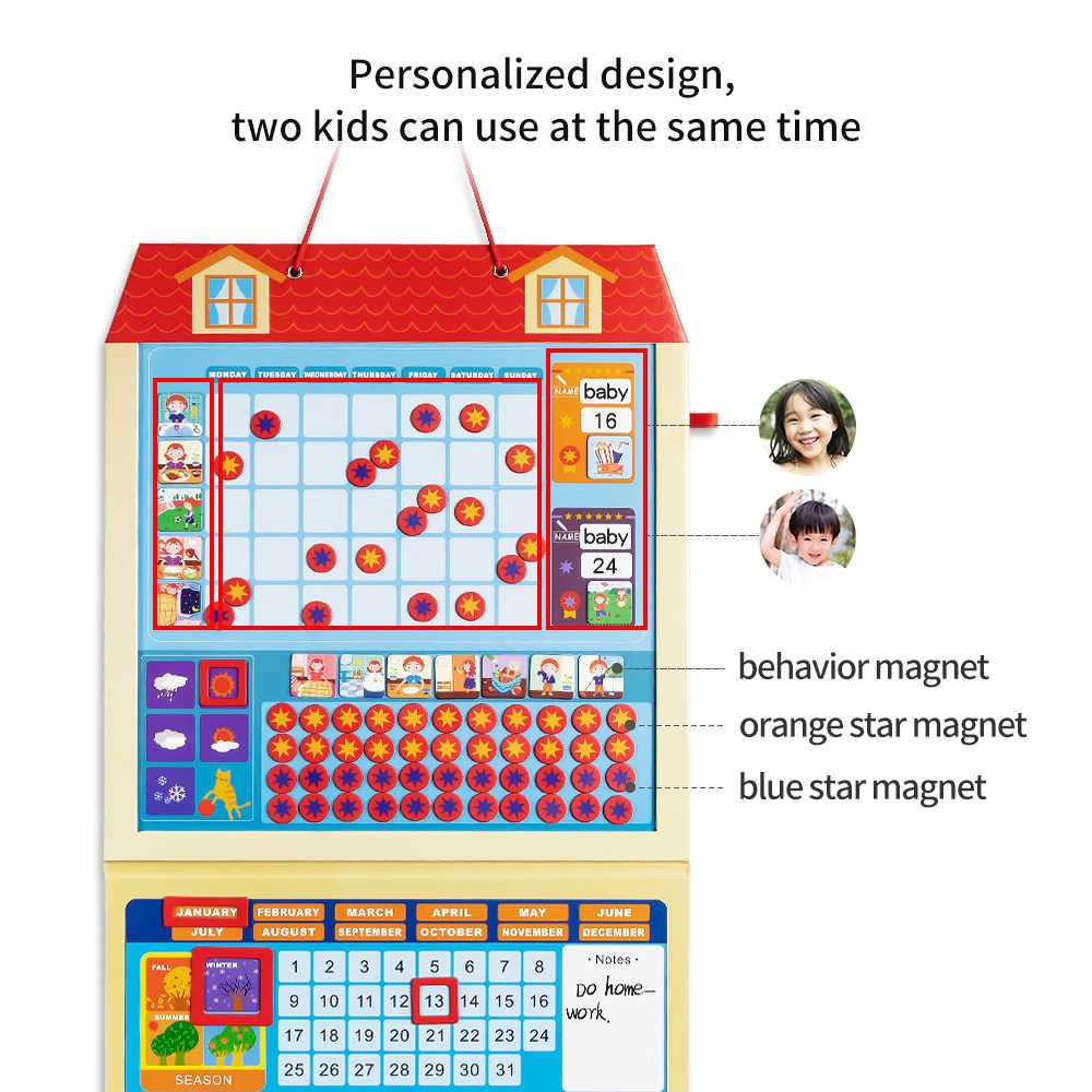Gráfico de recompensa incumbência Magnético Para Crianças ganhe prêmios de Placa para concluir tarefas Wor