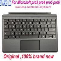 Capa original de Bluetooth SEM FIO para Microsoft Surface Pro 3 Pro 4 Pro 5 pro6 1631 1724 1796|Painéis e LCDs p/ tablet| |  -