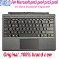 ultrathin подсветки клавиатуры в случае первоначального покрытия для Microsoft Bluetooth поверхности Pro 3 про 4 за 5 pro6 1631 1724 1796