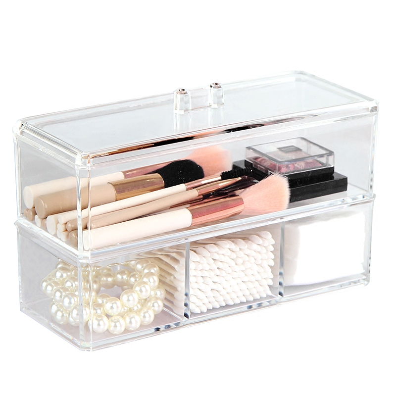 buy portable transparent makeup organizer. Black Bedroom Furniture Sets. Home Design Ideas