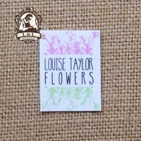 85 Custom Logo Labels Brand Labels Personalized Name Tags For Children Iron On Custom Clothing Labels
